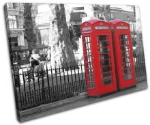 London Telephone Box Landmarks - 13-1262(00B)-SG32-LO
